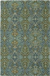 Kaleen Amaranta Collection Hand-Tufted Area Rug, 8' x 10', Peacock