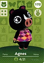 Nintendo Animal Crossing Happy Home Designer Amiibo Card Agnes 172/200 USA Version