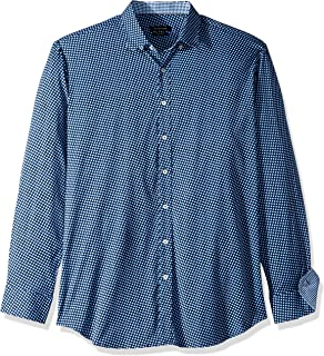 Bugatchi Men's Long Sleeve Shaped Performance Shirt