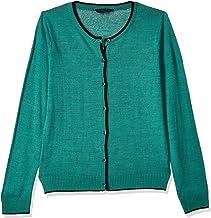 CHEROKEE Women's Wool Cardigan (400017657073_Green_L)