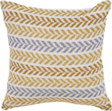 LR Resources PILLO07252YLWIIPL Altair Sunny Day Throw Pillow, 18