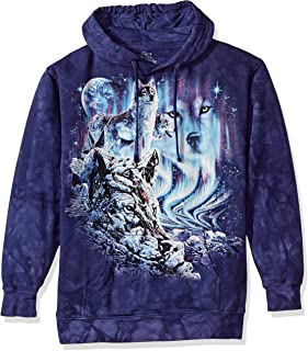 The Mountain Men's Find 10 Wolves Hooded Sweatshirt