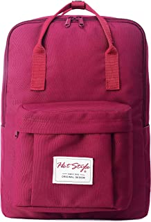 BESTIE Medium Backpack for Women & Teen Girls, Fashion Bookbag Cute for School, College and Travel