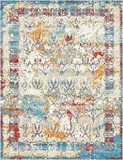 A2Z Rug Multi 8' x 10' Feet Manuch Collection Area Rugs
