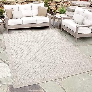 Orian Rugs Jersey Home Indoor/Outdoor Fusion Trellis Area Rug, 7'7