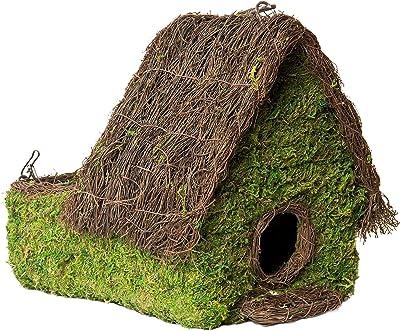 "Super Moss (56002) Plantable Maison Birdhouse, 9.5"" by 10.5"", Fresh Green"