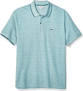 Lacoste Men's S/S Printed Pique Classic FIT Polo Shirt, Tide Blue, 3XL