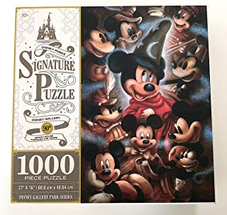DisneyParks Mickey Mouse Through The Years 90th Anniversary 1000 Piece Signature Puzzle