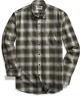 Amazon Brand - Goodthreads Men's Slim-Fit Long-Sleeve Buffalo Plaid Oxford Shirt
