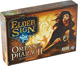Fantasy Flight Games Current Edition Elder Sign Omens of The Pharaoh Board Game