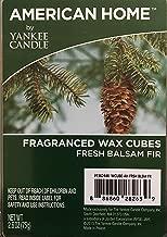 American Home By Yankee Candle Fresh Balsam Fir, Fragranced Wax Cubes