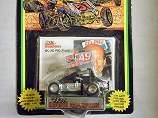 Doug Wolfgang Car #49 Sprint Car World of Outlaws series One 1:64 scale die-cast Racer by Racing Champions