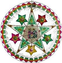 Gift Ko Handmade Nativity/Star Parol Christmas Lantern 29 inch Multicolored