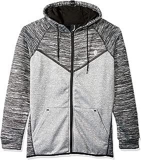 BROOKLYN ATHLETICS Men's Fleece Hoodie Sweatshirt Space Dye
