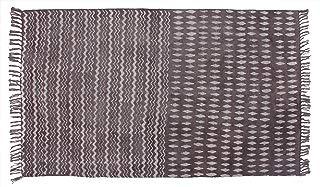 Jaipur Handloom Indian Area Rug Handmade Rag Rug, Carpet Runner, Large Multicolor Colorful Indian Dhurrie, Floor Mat Bohemian Boho Decorative Accent Weave Rag Rug (3 X 5 ft (91 X 152 cm), Multi_08)