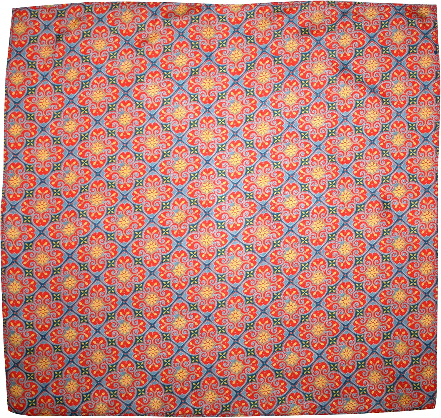 GOLD CATHEDRAL Silk Handkerchief - Full-Sized 16
