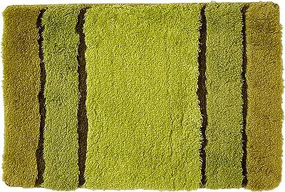 Spirella 1218953 Carpet Textil-Calm KIWI-40 x 60 cm, White, Standard