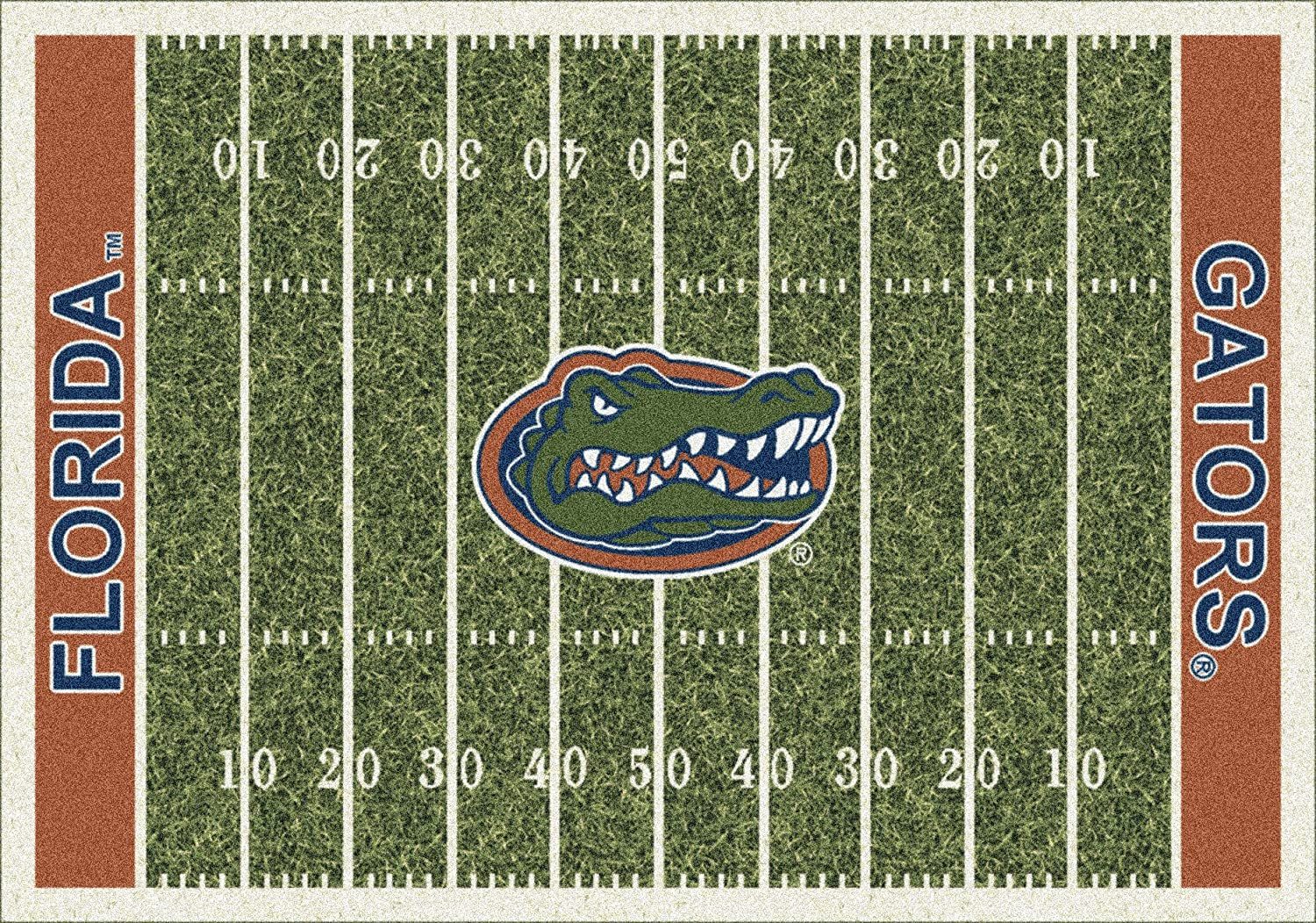5x8 Milliken Florida Gators 1500 Max 54% OFF NCAA Rug Home Area - Appr All items in the store Field