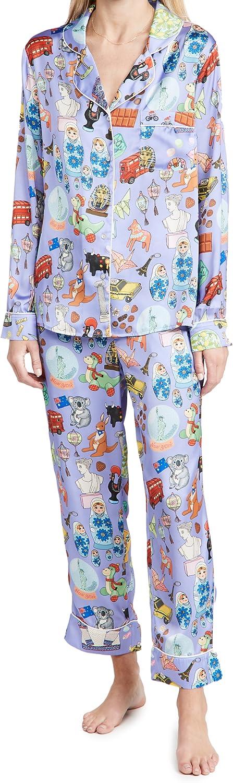 Karen Mabon Women's Souvenirs Pajama Long Super OFFicial mail order intense SALE Set