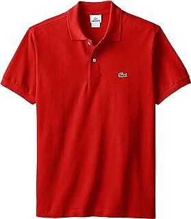 Lacoste Men's Classic Short Sleeve L.12.12 Pique Polo Shirt,Red,XX-Large