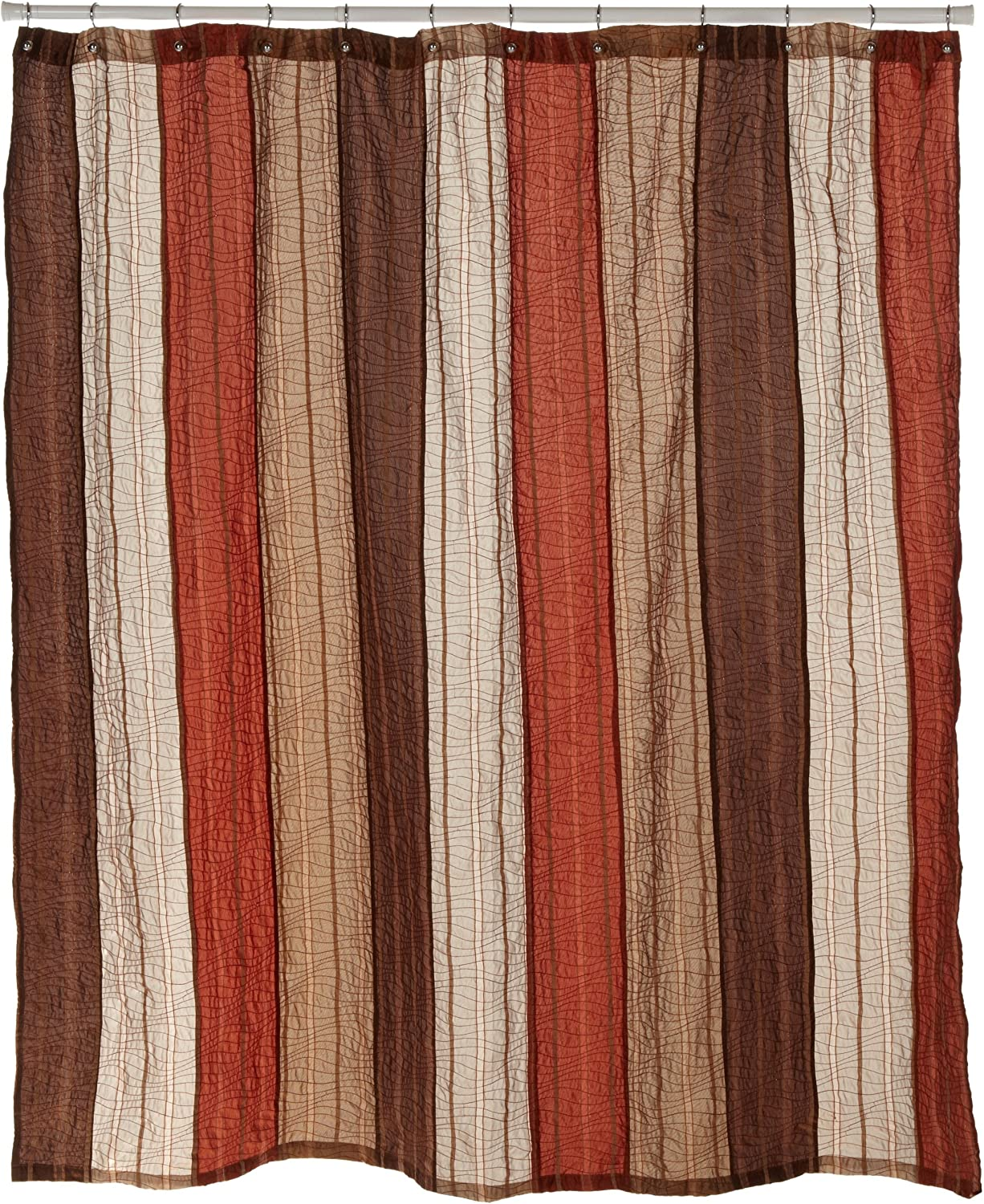 Manor Hill, Sierra Collection, Shower Curtain, Copper