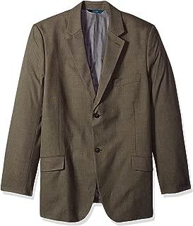 Perry Ellis Men's Regular Fit Pattern Twill Suit Jacket