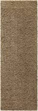 Runner Rug, Maples Rugs [Made in USA][Catriona] 2' x 6' Non Slip Hallway Entry Area Rug for Living Room, Bedroom, and Kitchen - Maverick Brown