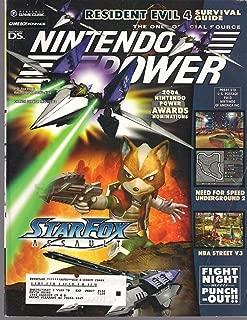 NINTENDO POWER March 2005 (Magazine. Volume 189. Resident Evil 4. Need for speed underground 2. NBA Street V3.)