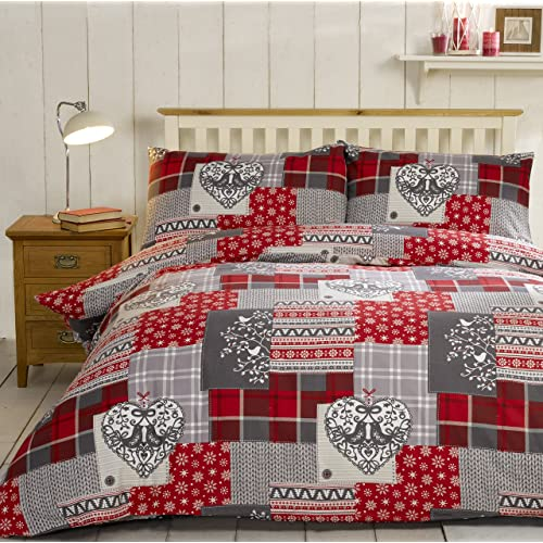 Red And Grey Bedding Amazoncouk