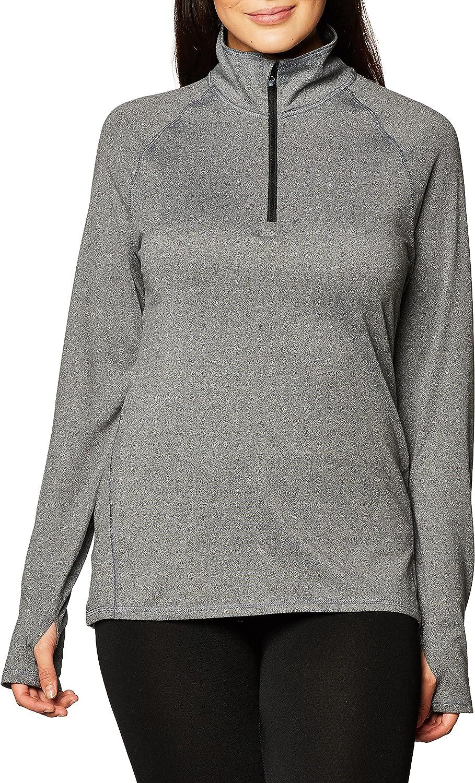 Hanes Sport Women's Performance Fleece Quarter Zip Pullover at  Women's Clothing store