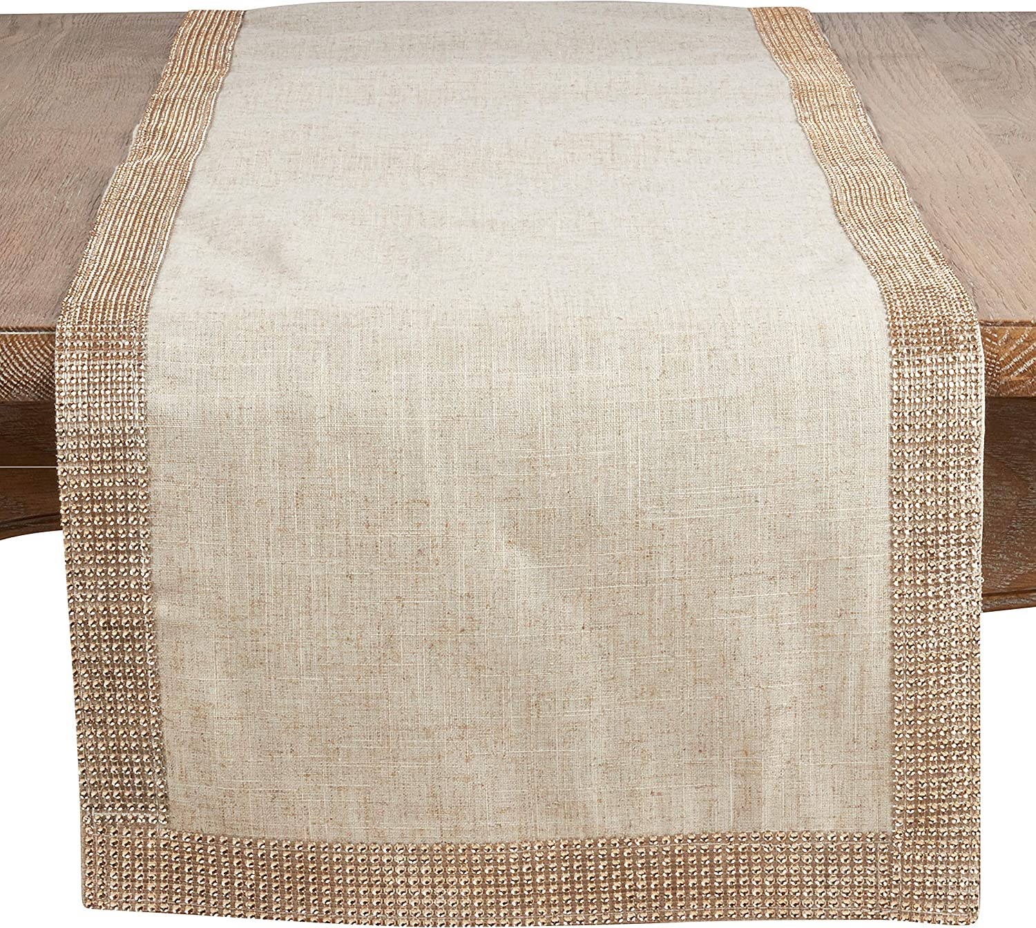 Champagne Studded Directly managed store Table Runner El Paso Mall Oblong 16