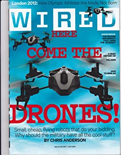 Wired Magazine, July 2012 - Here Come the Drones!