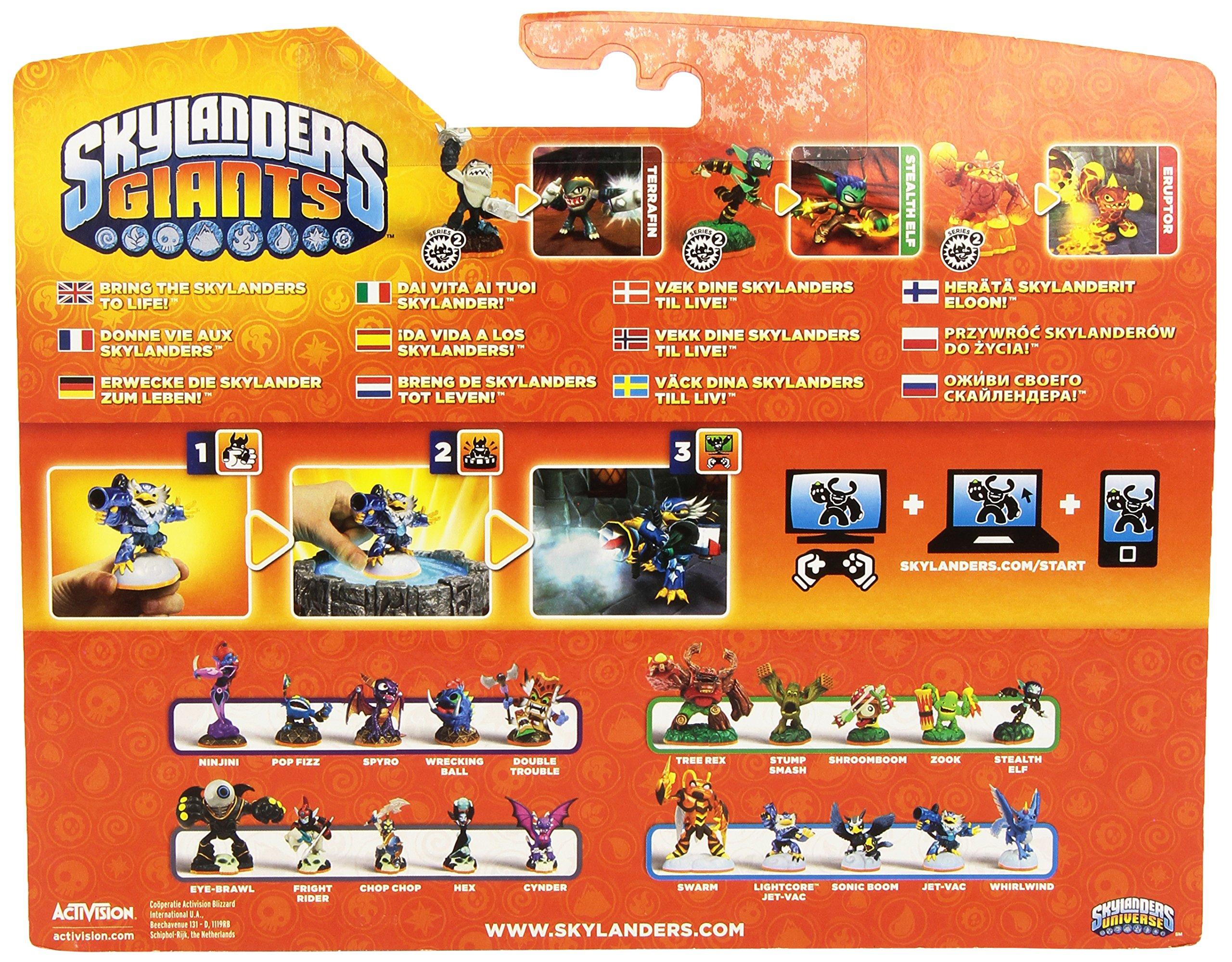 Skylanders: Giants - Triple PacK F: Eruptor + Stealth Elf + Terrafin: Amazon.es: Videojuegos