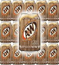 A&W Root Beer, 12 Fl Oz Can, (Pack of 15, Total of 180 Fl Oz)