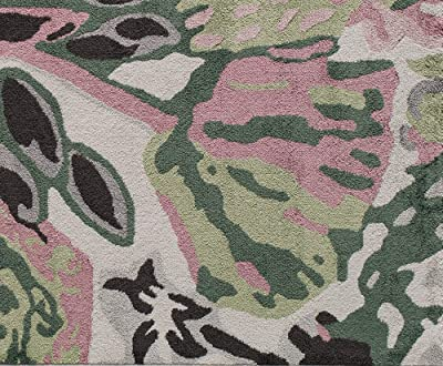 Rugs America VA15B May Flowers Transitional Floral Area Rug 9' x 12'