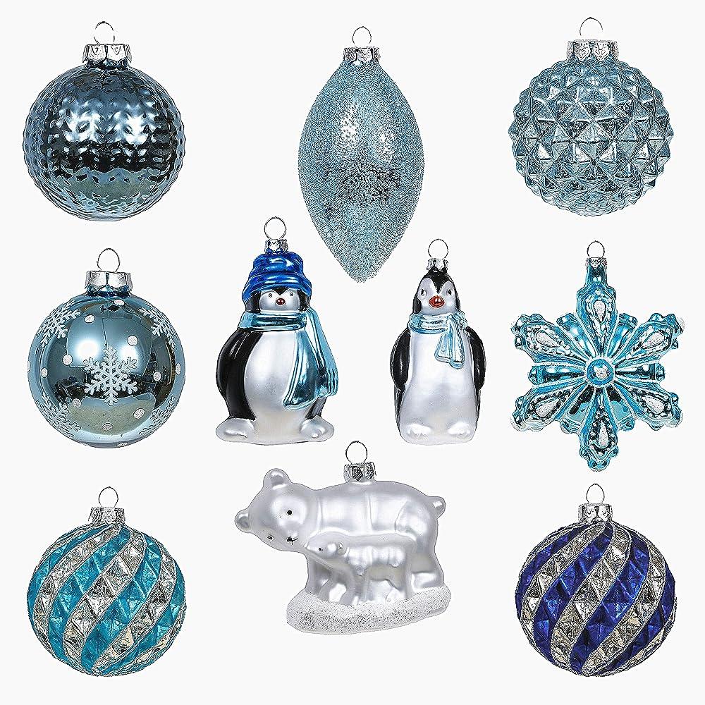 Valery madelyn addobbi natalizi set, 10 pezzi EG0107-0078