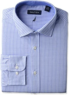 Men's Classic Fit Spread Collar Dress Shirt