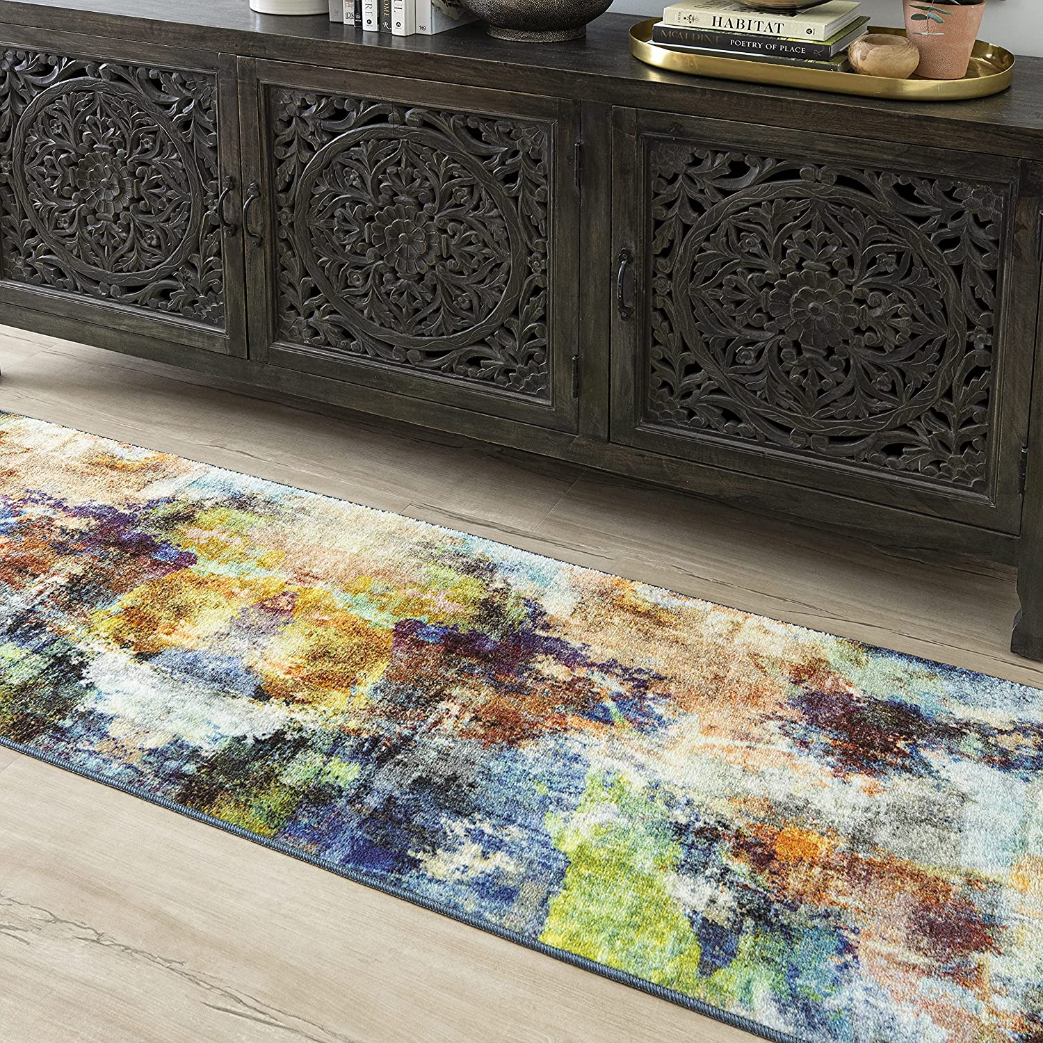Mohawk Home Decollage Area Rug X 4 Our shop most popular years warranty 8' 2' Multi