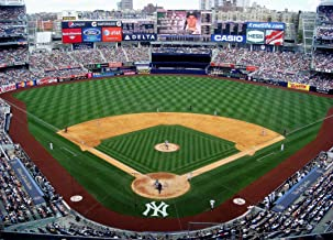EB002 Yankees Stadium Baseball New York Sports Athlete Poster and Canvas