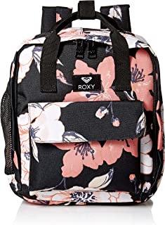 Roxy Junior's Little Journey Mini Lunch Sack Backpack, Anthracite Sample New Flowers, 1SZ