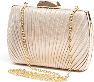 b491a9ff90f Amazon.com: Golds - Clutches / Clutches & Evening Bags: Clothing ...
