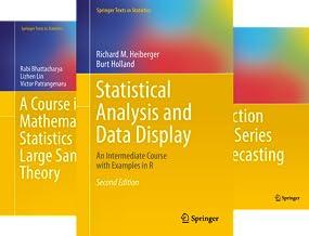 Springer Texts in Statistics (51-69) (19 Book Series)