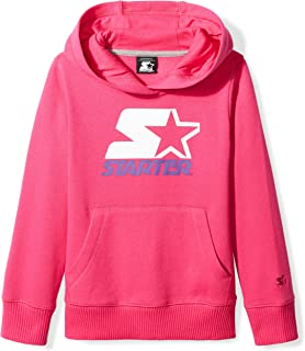 Starter Girls' Pullover Multi-Color Logo Hoodie, Amazon Exclusive