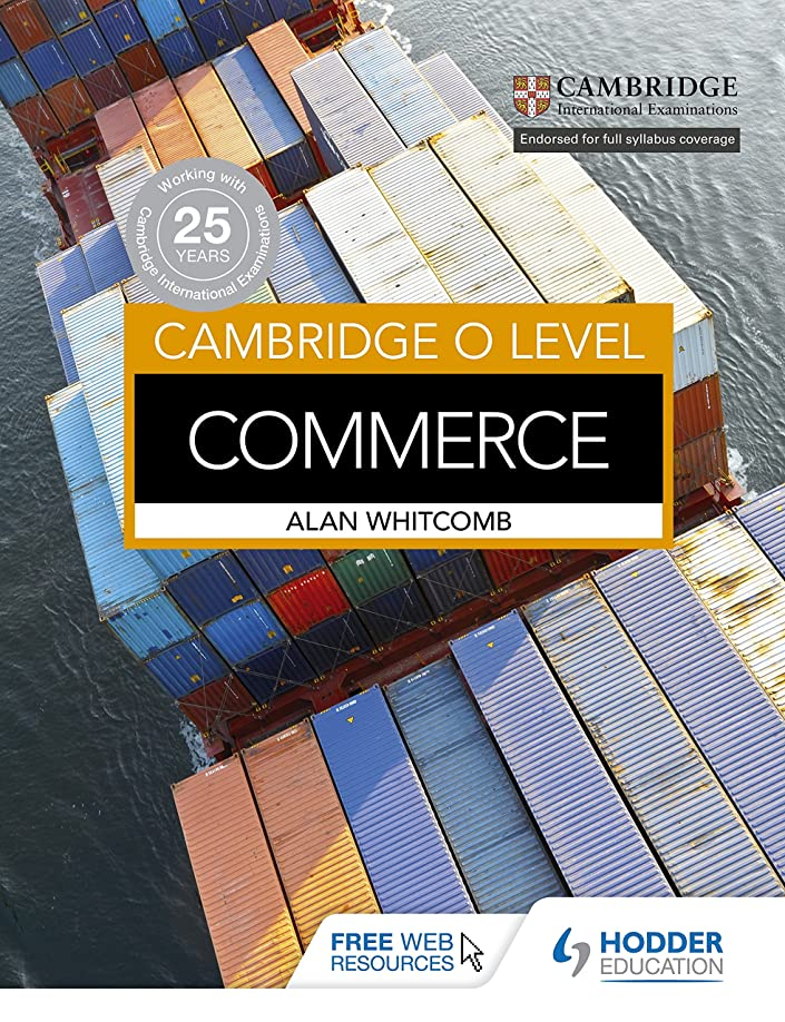 ストッキング一節放課後Cambridge O Level Commerce (English Edition)
