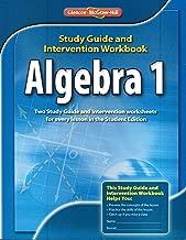 Algebra I Study Guide and Intervention Workbook