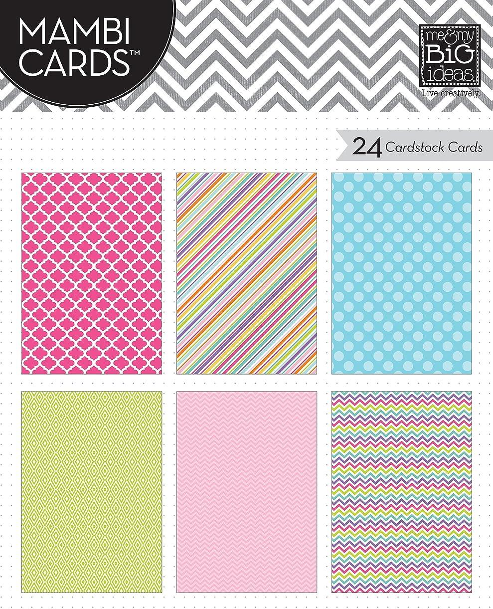 me & my BIG ideas Pocket Pages Mambi Cards, Brights koddi9346