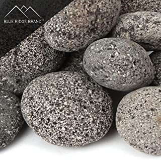 Blue Ridge Brand™ Lava Rock - 50-Pound Tumbled Lava Stones for Fire Pit - 3