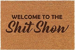 Best Daylor Coir Door Mat Doormat Funny Welcome to The Sht Show Review