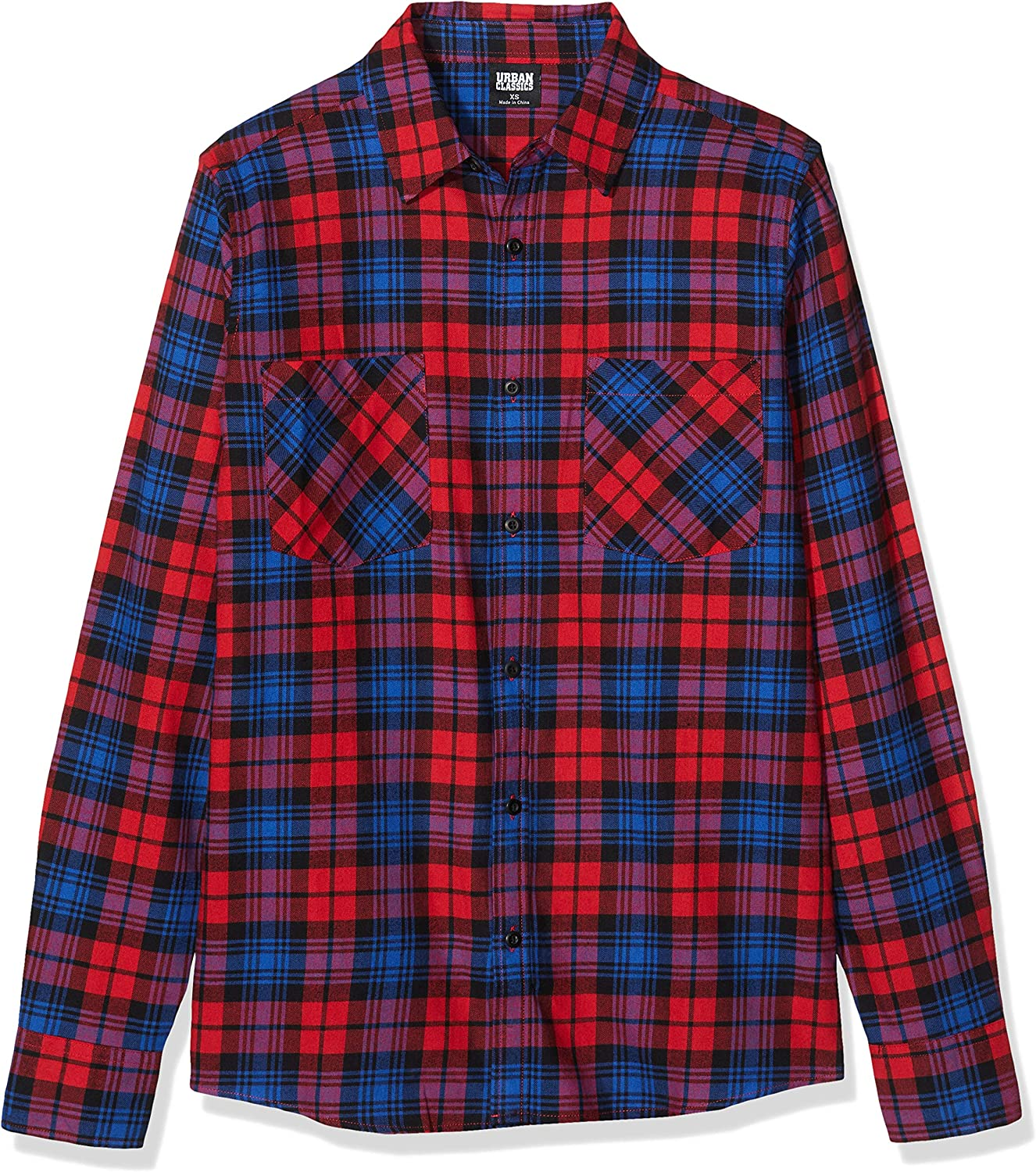 Urban Classics - Checked Flanell Button Up Shirt