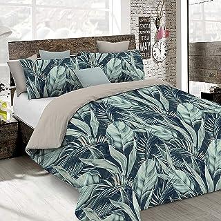 Italian Bed Linen Juego de Funda nórdica Fashion, Tropical, 1 Plaza y Media